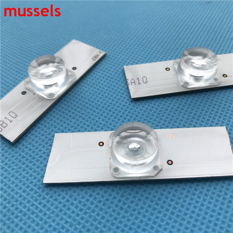 """Image 3 - 32"""" 65"""" inch TV Led Strips 3v Bulbs Diodes Optical Concave Lens Fliter Backlight w/ cable Double side Tape 10pcs/pack 2 bags/lot-in Industrial Computer & Accessories from Computer & Office"""