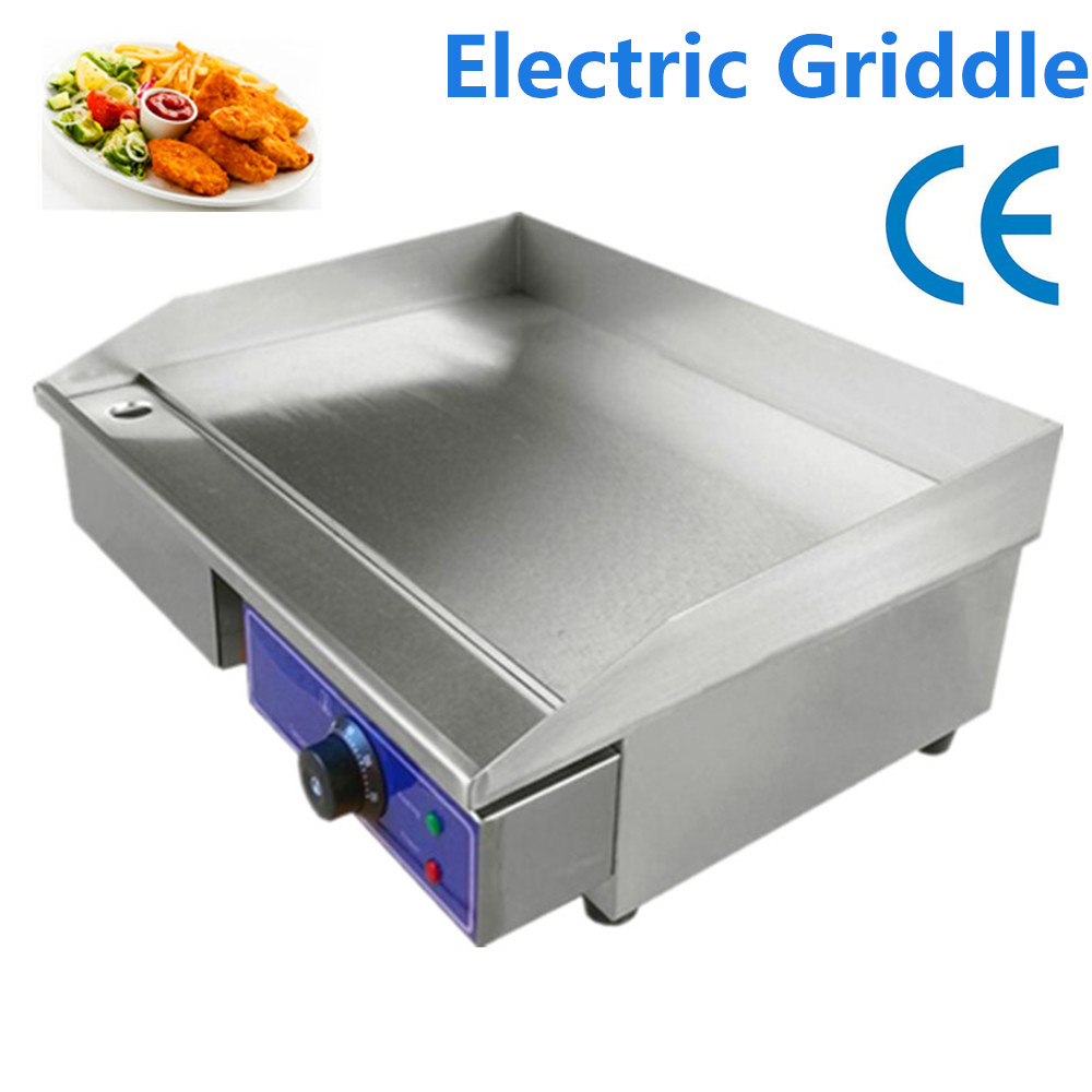 Cheap Commercial Flat griddle for sale Commercial Stainless steel Electric Griddle Flat Pan Germany stock 6 4 4m bounce house combo pool and slide used commercial bounce houses for sale