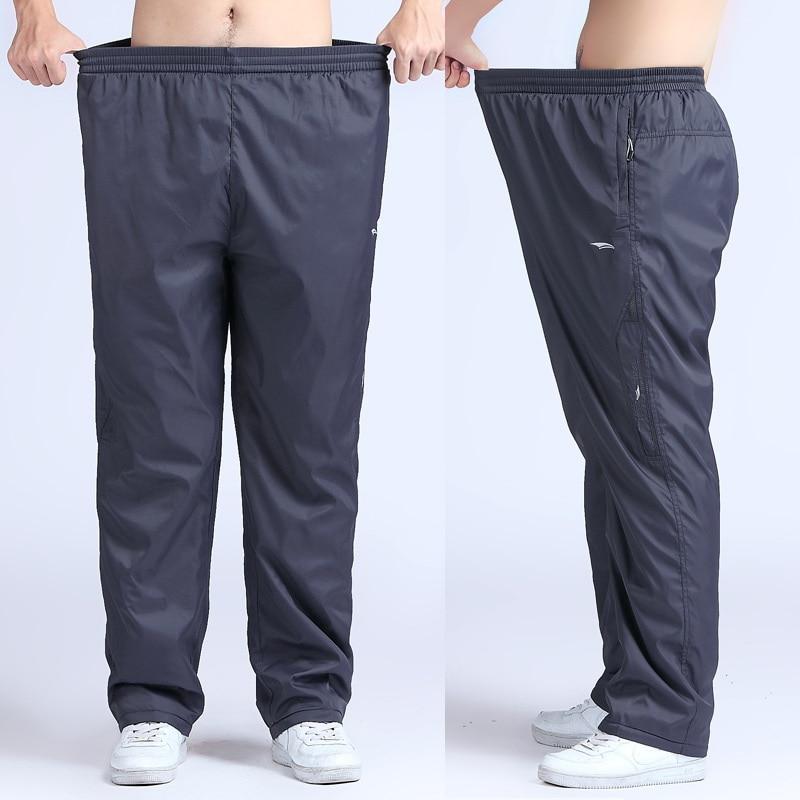 Quick Dry Men S Running Pants Outdoor Plus Size 6XL Loose Fit Long Men Sport Pants