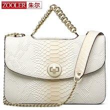 $ Number de lucro! zooler mujeres cadenas bolsas de mensajero del bolso de hombro de cuero bolso bolsa feminina mango piel de vacuno de calidad superior #5320