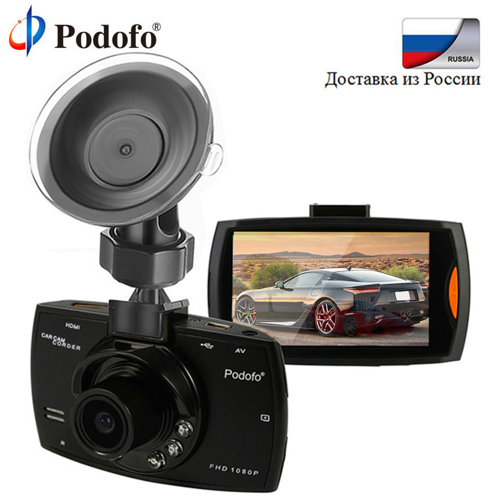 Podofo Car DVR Dash Camera FHD 1080P Car DVRs Video Recorder Camcorder Night Vision/G-Sensor Registrars Loop Recording Dash Cam