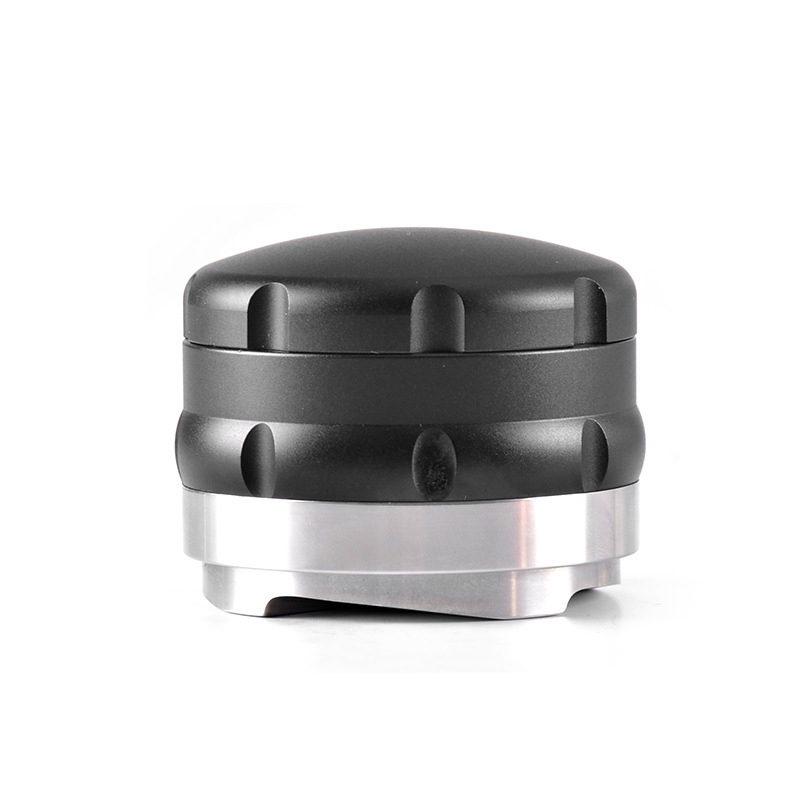 1* Coffee Tamper Stainless Steel 58mm Portable Double Layers Adjustable Powder Coffee Tamper For Espresso