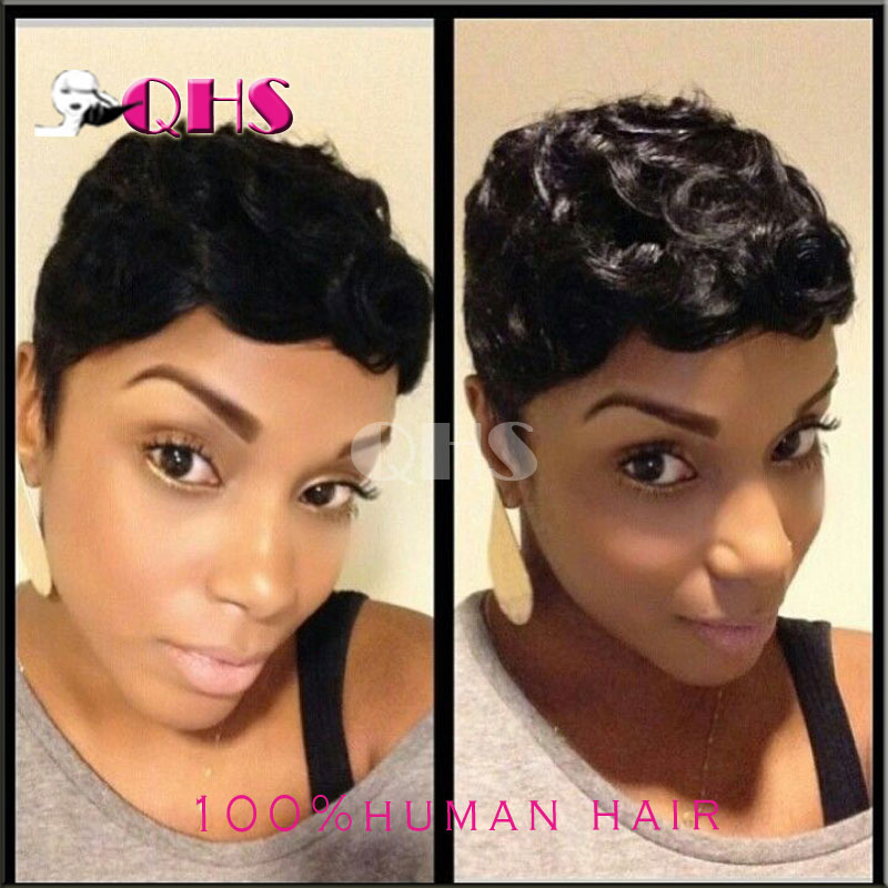 2016 brazilian hair full lace front wig kinky