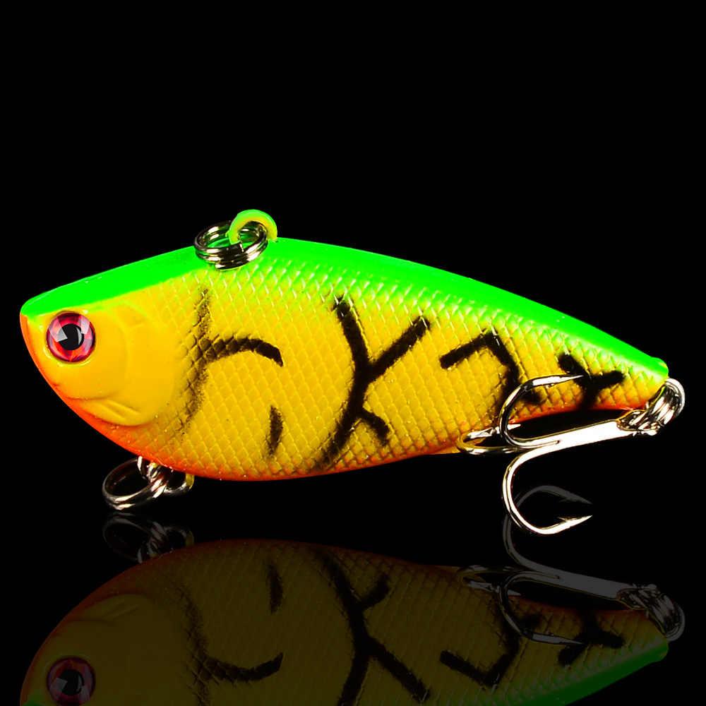 1 Cái Sống Động Như Thật VIB Mồi Câu Cá 7.5G/5.5 Cm Móc Câu Cá Wobblers Swimbait Nhân Tạo Nhật Bản Mồi Crankbait