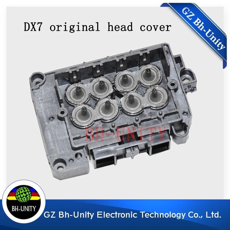 wholesales 2 pcs F189010 Original made in Japan Solvent printer DX7 head cover for xenon titanjet wit color inkjet printer