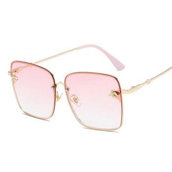 2019 Oversize Square Sunglasses Men Women Celebrity Sun Glasses Male Driving Superstar Luxury Brand Designer Female Shades UV400