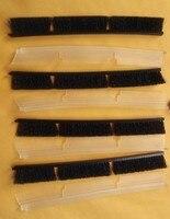 4 X Silicone Blades 4 X Brushes For Neato Combo Brush XV 21 XV Signature Pro