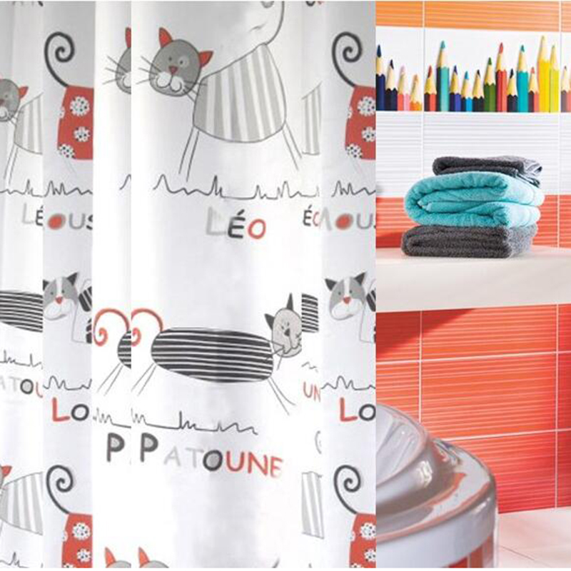 Online Shop 100*200cm Shower Curtain Polyester Cloth Waterproof ...