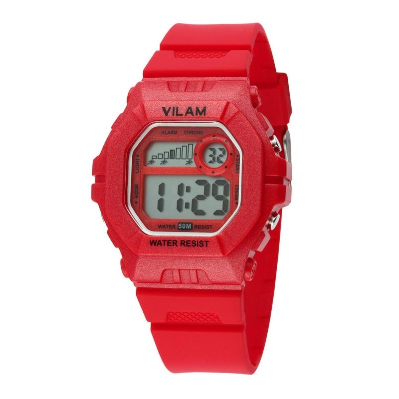 Vilam Brand Children Watch Student Wristwatch School Clock Alarm Calendar Digital Colorful Sport Diving Girls Kids