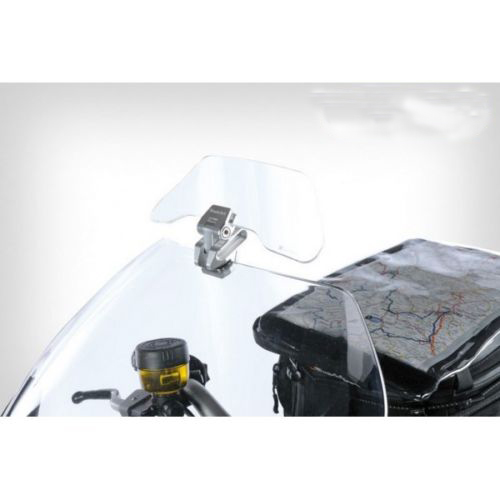 Universal Transparent Upper Outer Windshield Air Wind Deflectors Vario+ Clear screen deflector for BMW R1200RT