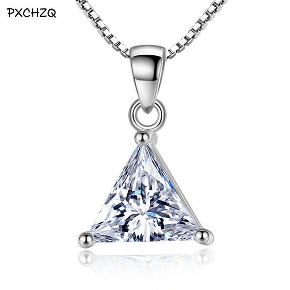 etsy the triangle latest my to share uno excited pin mixed s women silver shop necklace addition triangular pendant angle