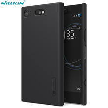 Nillkin Frosted Case for Sony Xperia XZ1 Compact Case Cover PC Hard Back Cover for Sony XZ1 Compact Case
