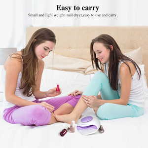 Image 4 - TOUCHBeauty sèche ongles Portable avec Air et lumière LED, bon pour le vernis régulier comme 0889