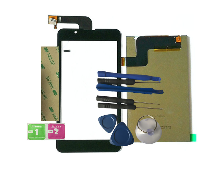 LCD For M060FW10 V2 LCD Display With Touch Screen 060012 01A V1 Digitizer Assembly Replacement With Tools+3M Sticker