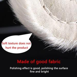 "Image 3 - 2"" 12"" Wheels Buffing Polishing Wheel Cotton Lint Cloth Buffing Wheel Gold Silver Jewelry Mirror Polishing Wheel"