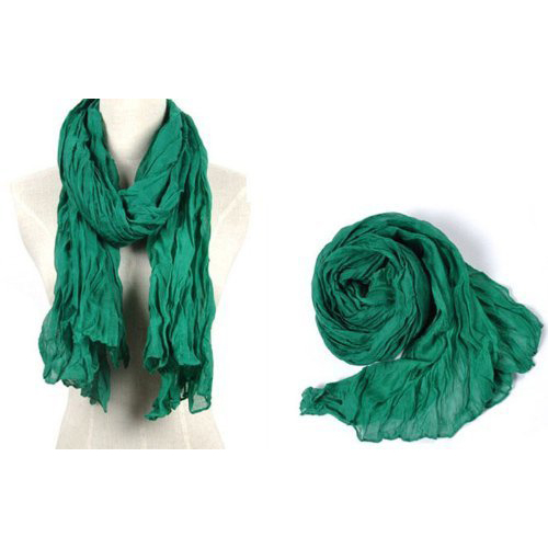 HOT New Fashion Solid Color Shawl   Scarf     Wrap   for Women (Green)