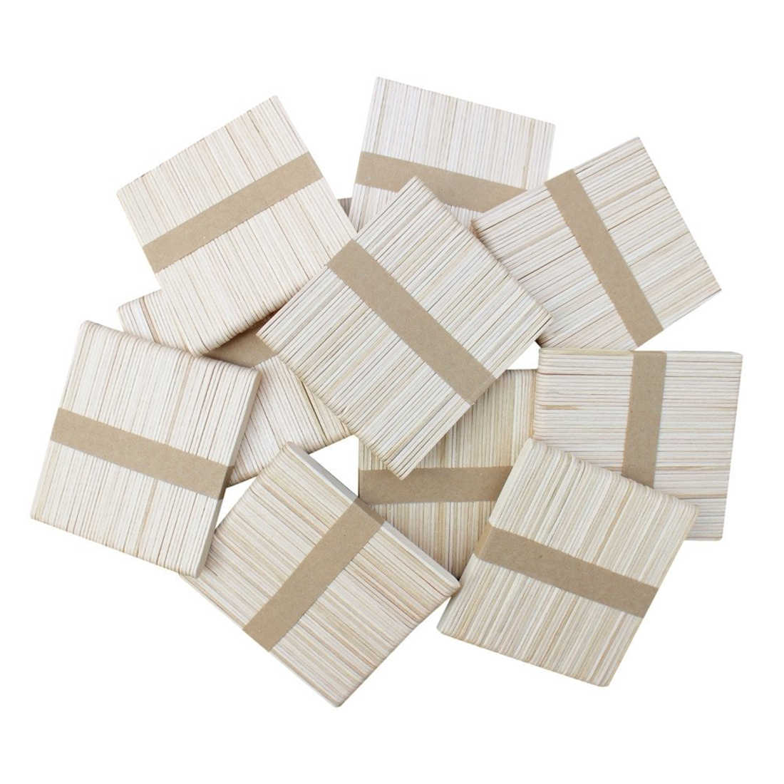 a1d0b1b121a Detail Feedback Questions about 300 PCS Natural Wood Popsicle Sticks,  Wooden Popsicle Stick, Homemade Ice Cream Sticks, Natural Wood Craft Sticks,  ...