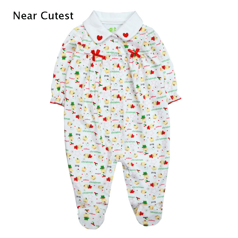 2017 Baby Rompers Newborn Baby Boy Clothing Set Baby Cotton Long Sleeve Jumpsuits Winter Overalls