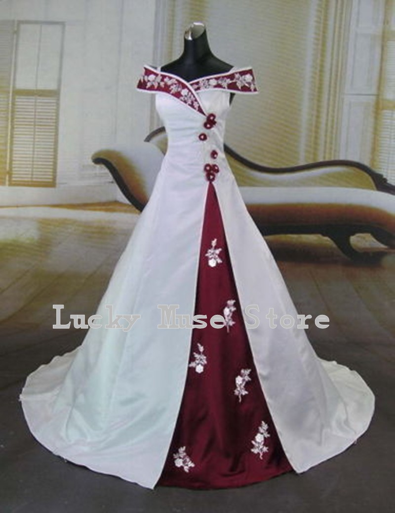 wine cheese 10 off favorsp red gothic wedding dress R Gothic red black gown