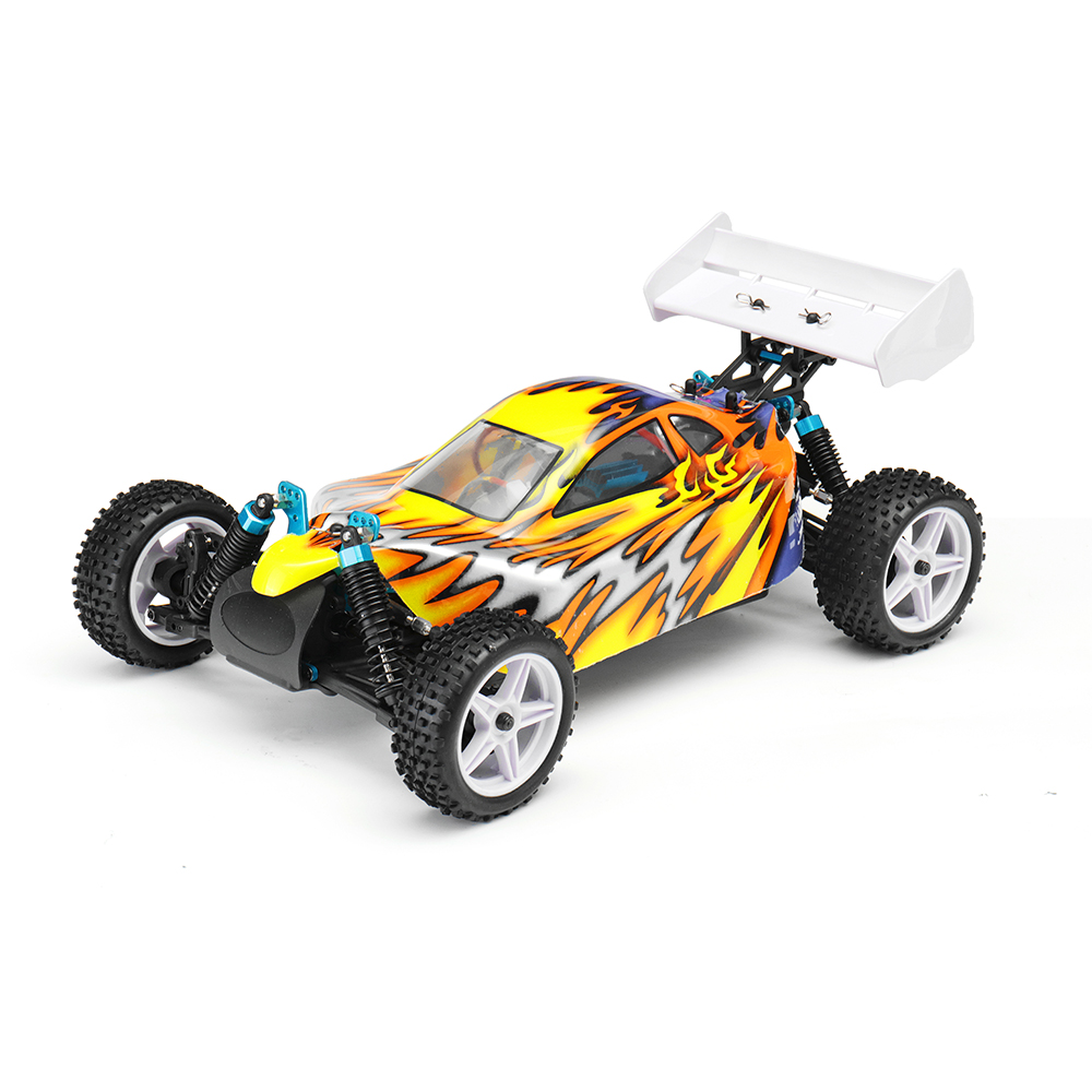 HSP 94107 60km/h 4WD 1/10 Electric Off Road Buggy RC Car Remote Control Toys For Kids Birthday Gifts hsp 1 10 off road buggy body 2pcs 31 17 6cm 10706 10707 106ma2 rc car electric rc car bodyshell for 94107 94107pro
