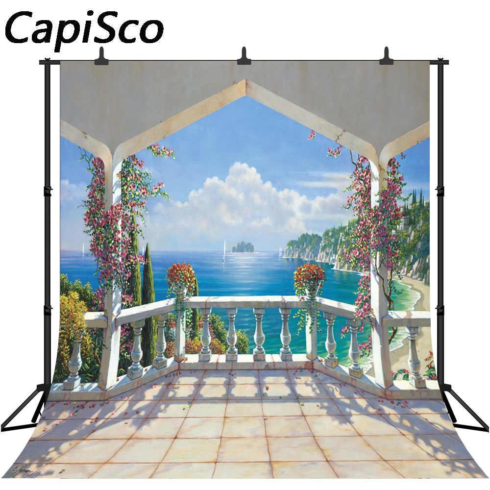 Fondos fotográficos Capisco, junto al mar, Palacio
