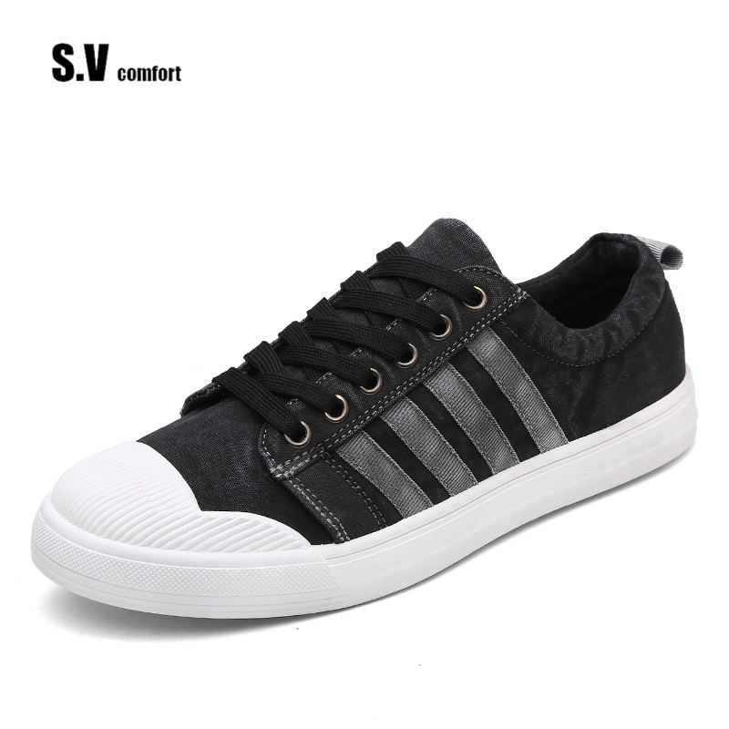 Hot Selling Fashion Classic Leisure High-Top Star Canvas All Shoes Men Shoes SV Comfort Brand