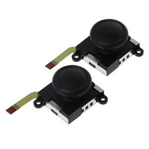 Image 5 - 3D Аналоговый джойстик переключатель Стик контроллер модуль сенсор потенциометр ремонтный инструмент Замена Черный для Nintendo Switch