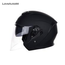 Мотоциклетный шлем, закрывающий половину лица ABS мотоцикл шлем для велоспорта гоночный шлем мотоциклетный шлем для мужчины/женщины