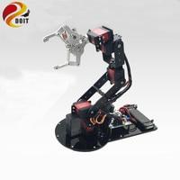 DOIT 6 DOF Mechanical Arm 3D Rotating Mechanical Arm Full Metal Structure Bracket & MG996R Servo