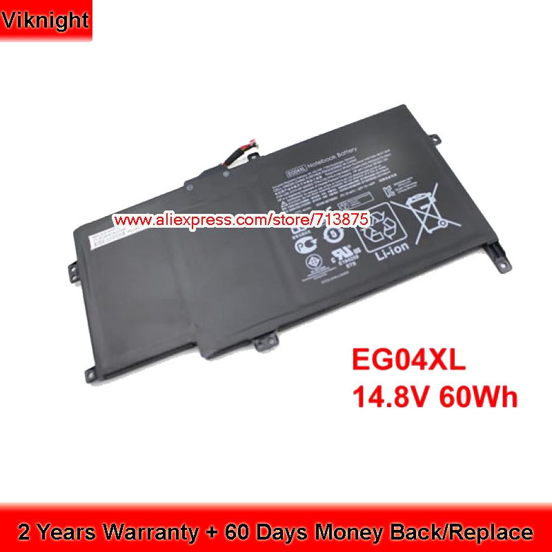 Original EG04XL Laptop Battery for HP Envy 6 Series HSTNN-IB3T HSTNN-DB3T EG04XL 14.8V 60Wh jigu laptop battery eg04 eg04xl ego4xl hstnn db3t hstnn ib3t tpn c103 tpn c108 for hp envy 6 series envy sleekbook 6