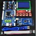 O Envio gratuito de Fábrica vendendo diretamente Placa de Controle LCD 12864 RAMPS1.57 Motorista A4988 Mega2560 R3 Development Board Para 3D