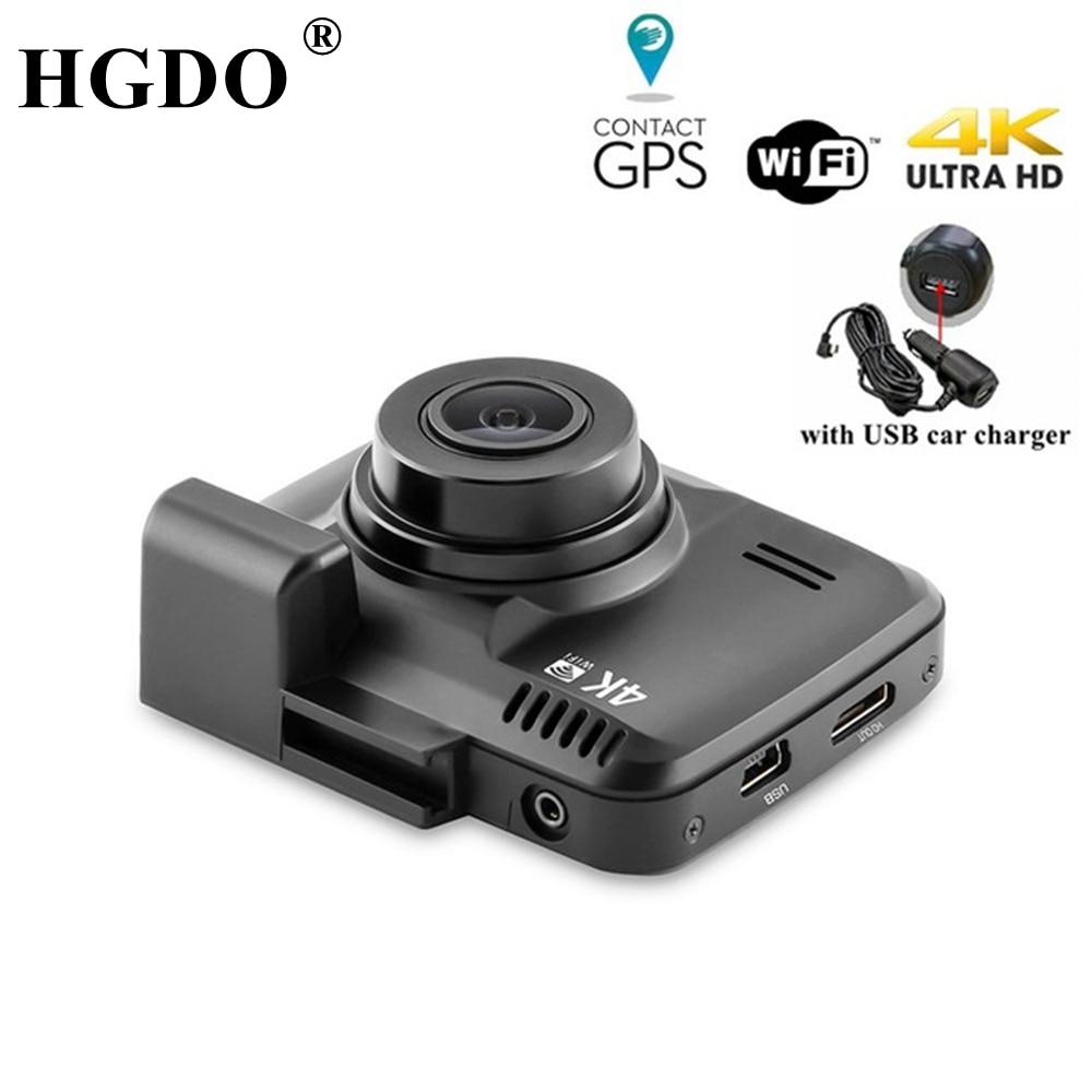 HGDO GS63H WiFi Car DVRs Recorder Dash Cam Novatek 96660 Vehicle Camera Built in GPS Camcorder 4K 2160P Night Vision Dashcam