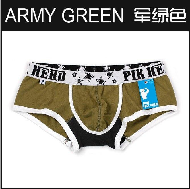 Buy mens boxers cotton sexy men underwear mens underpants male panties shorts U convex pouch boxers