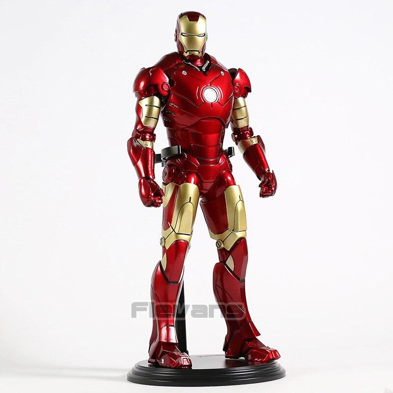 Iron Man MARK 3 III 1/6th Bilancia PVC Figure Da Collezione Model Toy-in Action figure e personaggi giocattolo da Giocattoli e hobby su AliExpress - 11.11_Doppio 11Giorno dei single 1