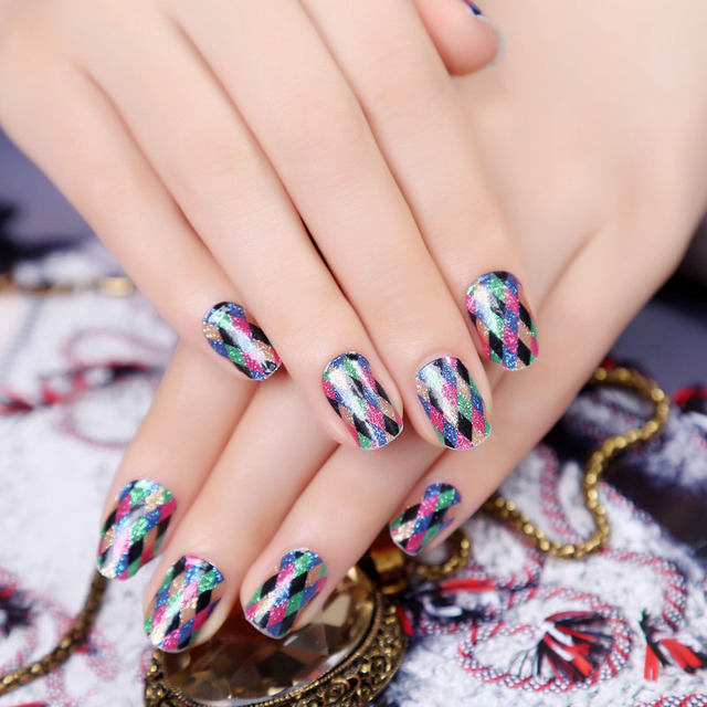 Beauty Design Lattice Nail Wrap Jamberry Nails Art Decoration