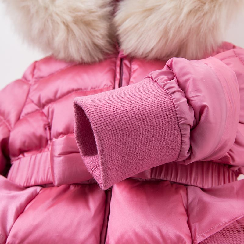 0a5458fcb DB5938 dave bella winter infant baby girls down jacket children ...
