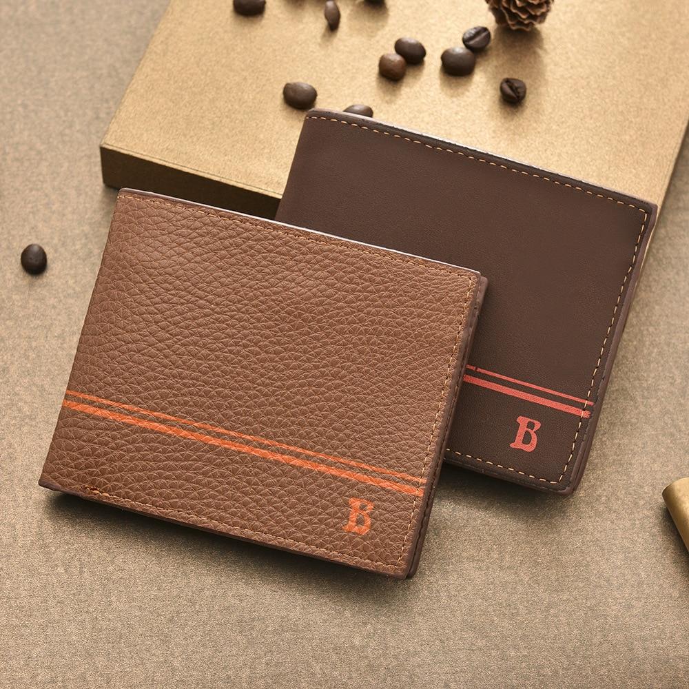 Wallet Men Wallets Billetera Hombre Carteira Short Wallets Coin Pocket Purse Port Feuille Homme Cuir Mens Wallet Leather Genuine