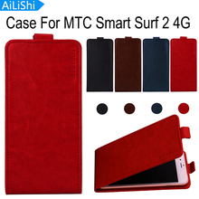 AiLiShi Hot!!! Case For MTC Smart Surf 2 4G Fashion Flip Luxury Leather Case Exclusive 100% Special Phone Cover Skin+Tracking