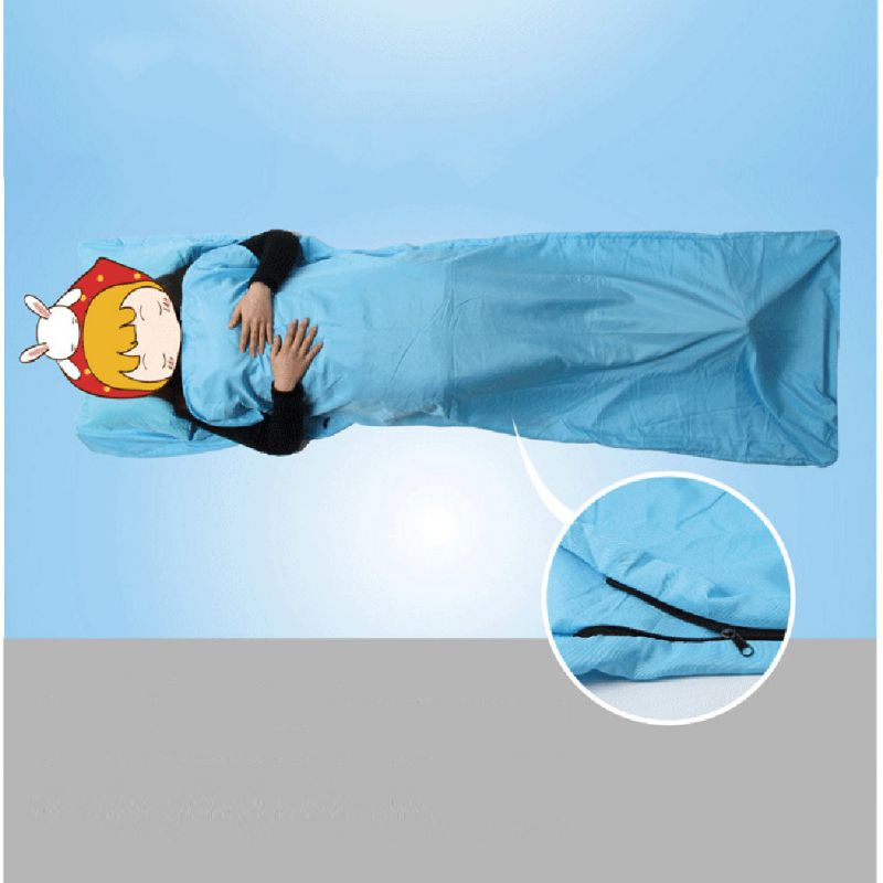 Sports & Entertainment Bluefield Ultralight Adult Outdoor Sleeping Bag 215*65cm Polyester Pongee Portable Single Sleeping Bag For Camping Travel 100% Original