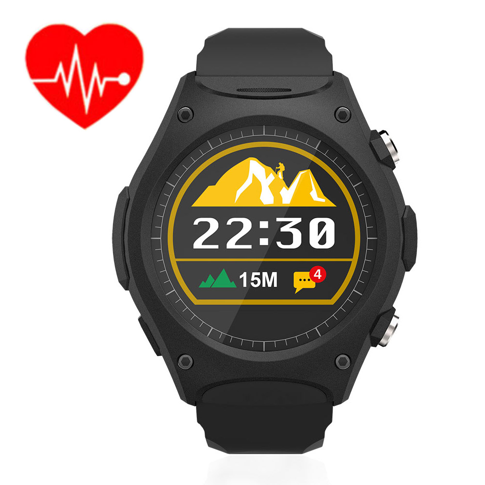 Heart Rate Monitor Smart Watch MTK2502C Q8 Bluetooth 4.0 Wristwatch Call Reminder Smart Outdoor Wristwatch for Android IOS Black wireless service call bell system popular in restaurant ce passed 433 92mhz full equipment watch pager 1 watch 7 call button