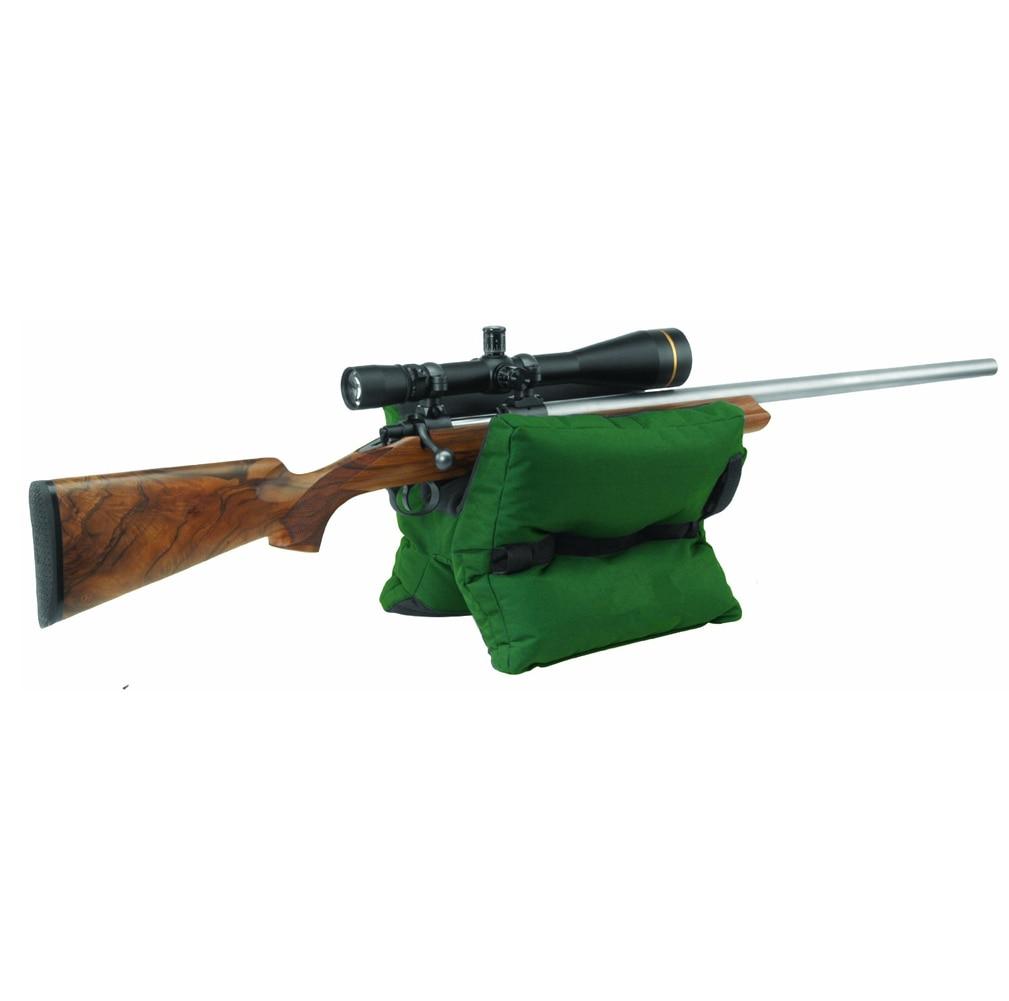 Outdoor Shotgun Rifle Bag Driver Hunting Rear Gun Rest Bag Set Gun Accessories Shooting Bag Target Sports Bench Unfilled Sa