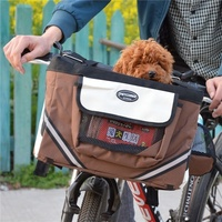 Pet Carrier Bag Dog Seat Basket Safe Carry Cat Puppy Bag Dog Bike Seat Pet Products