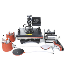 8 в 1 многофункциональная комбинированная сублимационная машина, откачивающаяся термопресс машина шляпа/кружка/пластина/Чехол/футболка