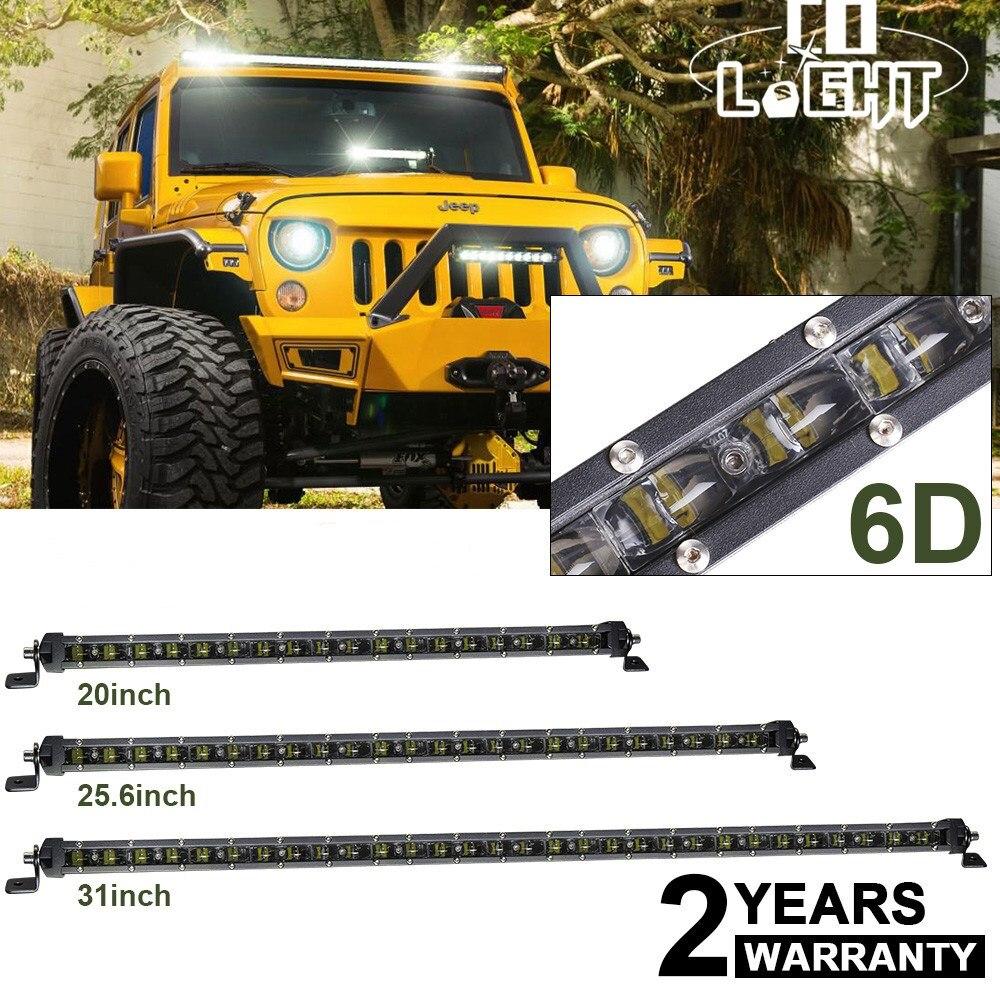 Со светом 20 25,6 31 дюймов 90 Вт 120 Вт 150 Вт Offroad 6D светодио дный пятно света Бар Наводнение Combo Луч для грузовик ATV внедорожник Hummer 4x4 светодио дный ...