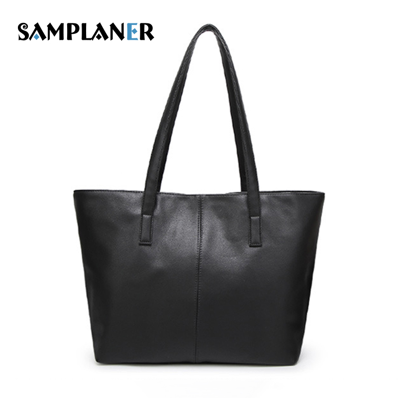 07204b764b Simple Black Shoulder Bag