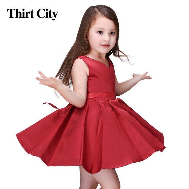 Kinder Baby Kind Us18 Abendkleider Brautjungfer Rot 022 Neue Spodnica 13 In Jahre Kid 2 Kleidung Mädchen Kleid zVpSMU