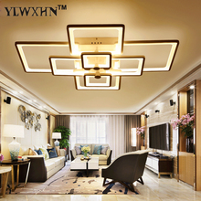 2017 Direct Selling Ce Ac The New Rectangle Acrylic Led Ceiling Light, Modern Living Room Lamp Of Deco Interior Lighting Home