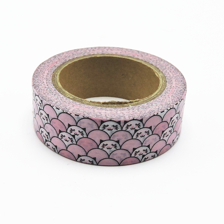 Kawai Pink Printing Japanese Washi Tape Stickers For ...