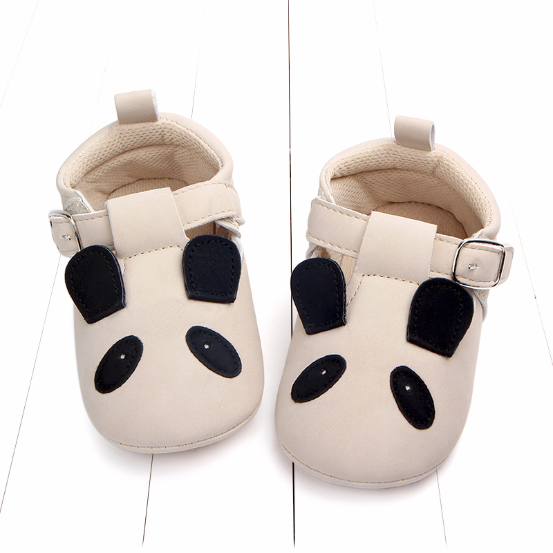 Baby First Walkers Matte leather Shoes for Baby Girl Boy Cartoon Animal Newborn Slippers Footwear Booties Kids Gift Child Shoes (41)