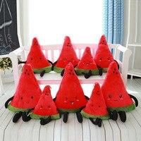 Lovely Watermelon Cushion For Leaning On Plush Toys Creative Fruit Office Sofa Cushion Pillow